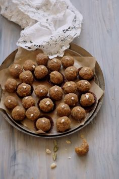 Narkel Naru (Gurer Naru): Indian Coconut Confection with Jaggery