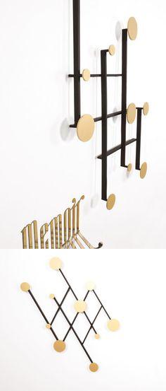 Modern wall mounted coat rack design ideas for Topdeq garderobe