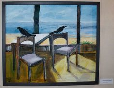 Fish Crows, Cuba by Charlie Johnson, Patrician Press artist.