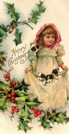 vintage postcard  Christmas