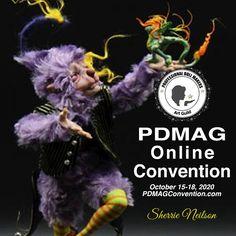 Virtual Art, October 15, Doll Maker, Online Art, Art Dolls, Fantasy Art, How To Find Out, Artists, Sculpting