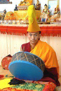 Dakpa Mindruk Pujas y Ritual de Chod: ceremonias de budismo tibetano. Madrid España  Febrero y Marzo 2016