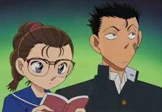 (Young) Kogoro Mouri & Eri Kisaki (Detective Conan)
