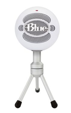 Versatile USB Microphone with HD Audio Plug 'n Play USB Microphone It's never been easier to get high quality audio with your computer! Home, office, anywhere — the Snowball iCE USB Microphone by Blue