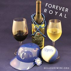 Support the Royals and local wine at the same time!  - #ForeverRoyal #MOwine #drinklocal #KC