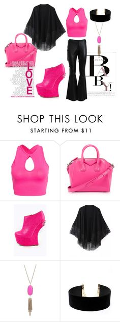 """J'adore Pink!"" by kristy-gk on Polyvore featuring NLY Trend, Givenchy, Relaxfeel, Kendra Scott, LULUS, November and Dolce&Gabbana"