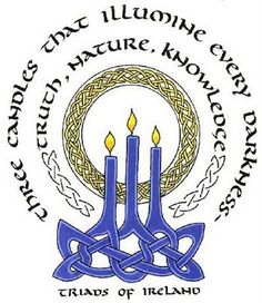 3 candles that illumine every darkness - truth, nature, knowledge