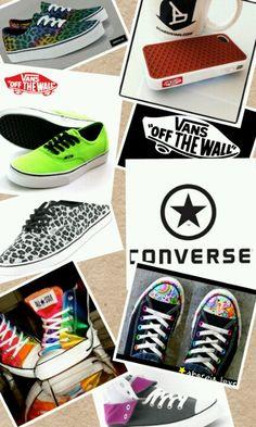 Vans & converse