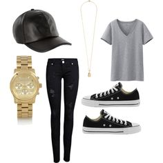 """Simple Yet Classy-Cool // @D"" by heydenzy on Polyvore"