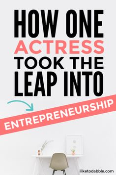 One actress's story of entrepreneurship and the tough times she experienced along the way. Business For Kids, Starting A Business, Business Tips, Ways To Save Money, Money Tips, Entrepreneur Stories, Best Screenplay, Financial Tips, Tough Times