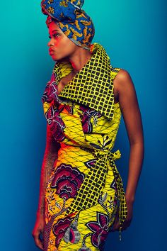 """yagazieemezi: """" African Fashion Week Amsterdam  Styling: Ashlee Janelle Danso MakeUp: Jennifer Elmzoon Models: Nella Ngingo    """""""