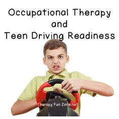 The important role of Pediatric Occupational Therapy in Driving Readiness with Adolescents Most At Risk This is a guest post written by Missy Menzes, occupational therapist and founder of Extra Credit! LLC. For teenagers, driving is a sort of rite of pa