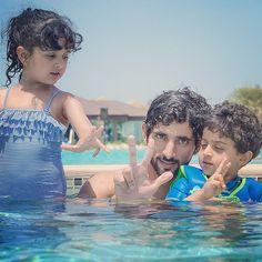 Sheikh Hamdan bin Mohammed bin Rashid Al-Maktoum, Crown Prince of Dubai, Sheema and Saeed, April.4, 2014