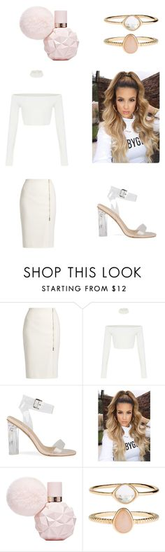 """""""miss . white"""" by daniah-shannon ❤ liked on Polyvore featuring MaxMara and Accessorize"""