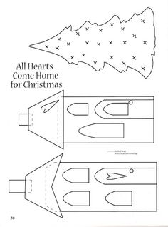Christmas at the Cottage_Patchwork design by Brenda Randall and Sharon Williams - NorisHLP NHLP - Picasa Web Albums Applique Templates, Applique Patterns, Applique Quilts, Applique Designs, Owl Templates, Printable Templates, Christmas Applique, Christmas Sewing, Felt Christmas