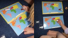 Geography: The Seven Continents and World Landmarks | The Homeschool Den- Continent Song