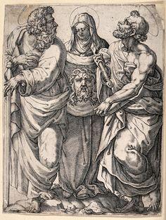 Veronica, Painting, Virgin Mary, Texts, Peace, Art, Painting Art, Paintings, Painted Canvas