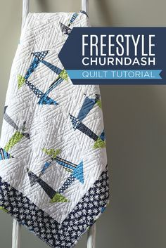 Saving for later! Awesome Freestyle Churndash Quilt Tutorial with Jenny Doan!