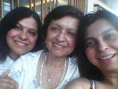 dos generaciones, mama hijas
