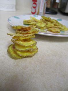Microwave Potato Chips | Sugar and Chiffon