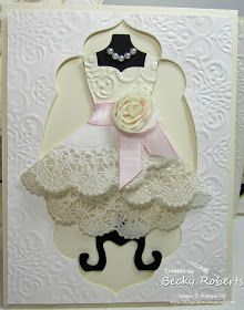 Inking Idaho: All Dressed Up! - how to make a pretty skirt from a paper doily
