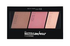 Finally! A drugstore contour kit that pays off in texture and pigment. This trio comes with a contour shade (which you can also use as a bronzer), blush, and highlighter. The best part? It's the perfect size for throwing into your makeup bag for weekend getaways.Maybelline FaceStudio Master Contour, $12.99, available at Ulta. #refinery29 http://www.refinery29.com/new-drugstore-makeup-products#slide-6