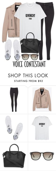 """Untitled #2855"" by elenaday ❤ liked on Polyvore featuring Maison Scotch, Yves Saint Laurent, adidas Originals, Givenchy, Tom Ford, thevoice and YahooView"