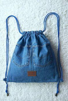 Cet article n'est pas disponible - My CMS Jean Crafts, Denim Crafts, Diy Jeans, Artisanats Denim, Denim Backpack, Denim Purse, Fabric Tote Bags, Denim Handbags, Denim Ideas