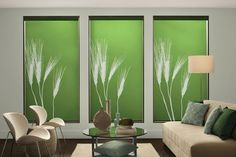 Custom Roller Shades: High Fashion and High Function - NH Blinds