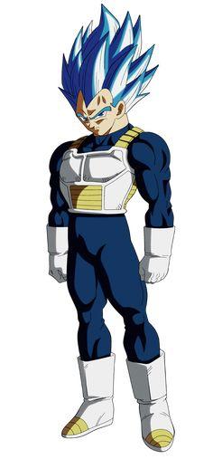 Bardock Super Saiyan, Super Vegeta, Vegeta Ssj Blue, Goku Vs, Dragon Ball Z, Evil Goku, Blue Drawings, Tattoo Drawings, Epic Characters