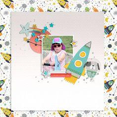 MCO_SpaceCase Girl Inspiration, Creative Inspiration, Geek Girls, My Scrapbook, Digital Scrapbooking, The Dreamers, Geek Stuff, Space, Fun