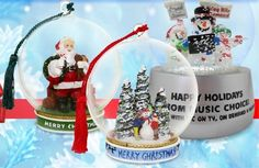 Custom Snow Globes are the most creative ornament that can tell a story for many years.