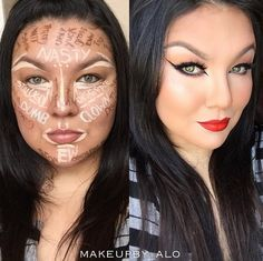 Clown Contouring is a real thing...but...
