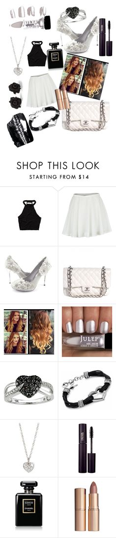 """""""Night On The Town"""" by thisisnot-niya ❤ liked on Polyvore featuring Abercrombie & Fitch, RHYTHM, Chanel, Ice, Marc by Marc Jacobs, Finn, INIKA, Charlotte Tilbury, women's clothing and women"""