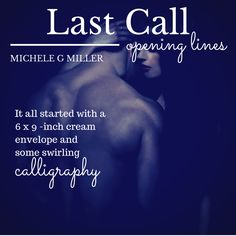 Opening lines tease for Last Call.