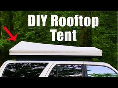 Finally showing the finished product! This is the homemade hardshell rooftop tent that I built last year. Roof Rack Tent, Diy Roof Top Tent, Car Top Tent, Top Tents, Rooftop Tent Diy, Rv Camping Tips, Tent Camping, Camping Ideas, Glamping