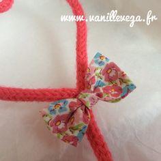 Commande de prénom en tricotin