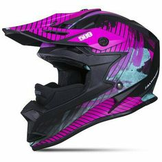 Snowmobile Clothing, Snowmobile Helmets, Dirt Bike Helmets, Dirt Bike Gear, Motocross Gear, Motocross Girls, Snowmobile Parts, Dirt Biking, Bmw Cafe Racer
