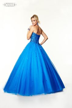 Mori Lee Paparazzi Prom Dress - Style 97042 - Available in Cobalt & Cerise - http://www.pandorasprom.co.uk/