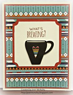 My Life As Art: Coffee Lovers Blog Hop SSS October 2014 Card Kit