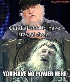 Game of Thrones / LOTR funny meme