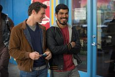 "Gay Talk Real Talk With the Cast of ""Looking""  - Cosmopolitan.com - Jonathan Groff & Raul Castillo"