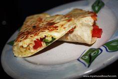 Capresse quesadilla at Fafu in Maldonado.    http://myamusedbouche.com/2012/03/20/fa-fu-cosas-ricas-in-maldonado-uruguay/