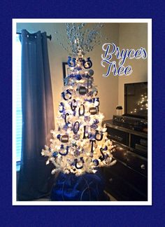 8 Best Colts Christmas Tree Images Christmas Tree