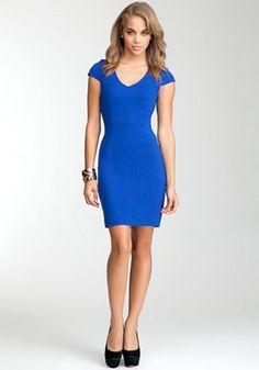 bebe | Marielle Geometric Dress - PETITES - View All