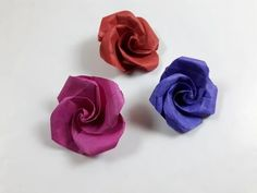 How to make a paper Rose? - YouTube