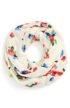 kate spade new york 'spring garden' infinity scarf | Nordstrom