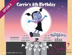 Vampirina Birthday Party Ideas And Themed Supplies