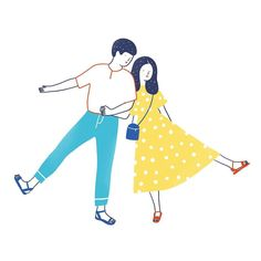 Minimal and simple illustrations by Agathe Sorlet Simple Illustration, Abstract Illustration, Illustration Inspiration, Character Illustration, Dibujos Cute, Couple Outfits, Couple Art, Illustrations And Posters, Cute Drawings