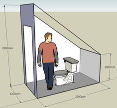Resultado de imagen de toilet under the stairs Ergebnis der Toilette unter der Treppe – This. Small Attic Bathroom, Bathroom Under Stairs, Loft Bathroom, Bathroom Layout, Toilet Under Stairs, Bathroom Ideas, Attic Bedroom Designs, Attic Bedrooms, Bedroom Loft